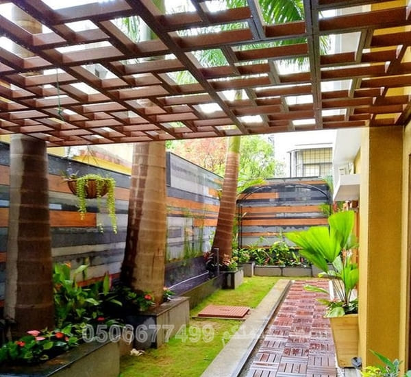 مظلات حدائق داخلية