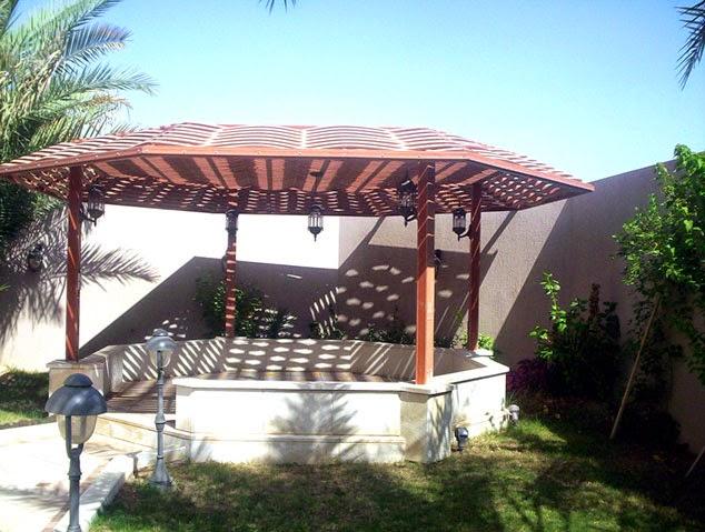 مظلات الحدائق