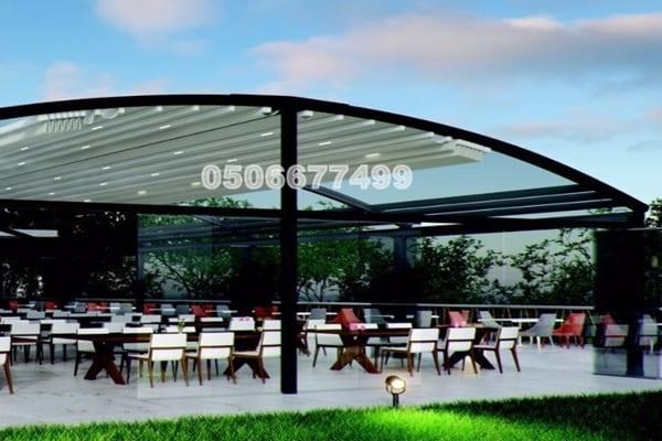 مظلات مطاعم