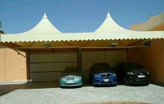 مظلات سيارات جدة