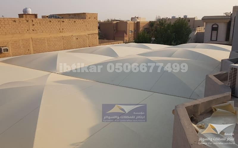 مظلات مدارس الشاملة العالمية الرياض