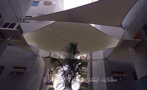 مظلات مباني