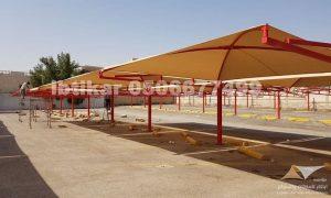 طريقة تركيب مظلات السيارات